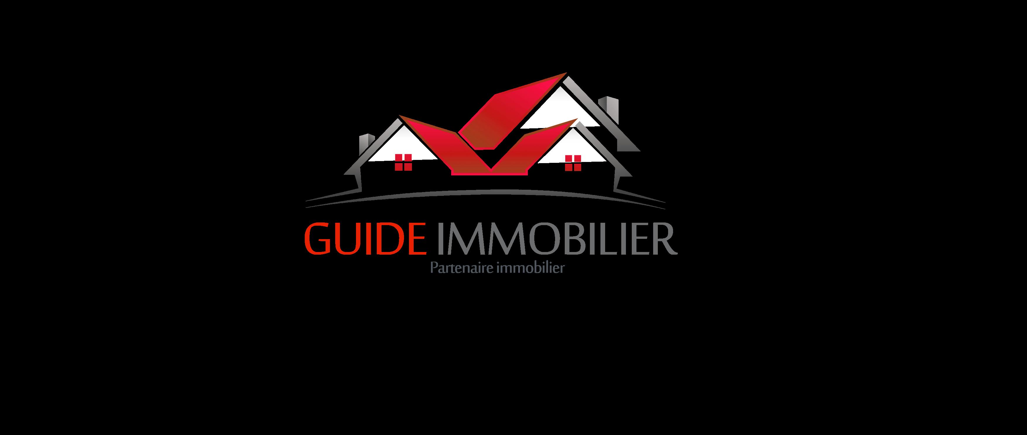 logo guide immobilier guide immobilier tout savoir sur l 39 immobilier. Black Bedroom Furniture Sets. Home Design Ideas